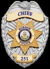 Hudson Police Badge